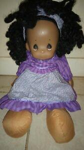 African American PRECIOUS MOMENTS Girl Doll--NROR*FREE SHIP