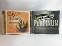 Worship Music 2 CD Set Lot of 2 Songs 4 Worship & Integrity's iWorship Platinum