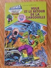 """BD  """"HULK ET LE RETOUR DE LA GARGOUILLE"""", AREDIT 1979, EN TRES BON ETAT"""