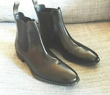 M & S AUTOGRAPH MENS BOOTS BROWN LEATHER UK 8 - EXCELLENT MARKS AND SPENCER