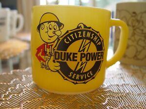 Federal Glass Reddy Kilowatt DUKE POWER COMPANY Advertising Coffee Mug