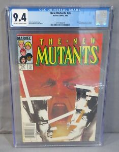 THE NEW MUTANTS #26 (Legion 1st appearance) CGC 9.4 NM Marvel Comics 1985