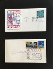 Jack S Kilby Computer Chip Inventor Signed Apollo Pictorial Postmark Cover.