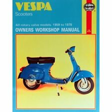 Buy vespa haynes 1976 motorcycle repair manuals & literature | ebay.