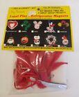 Valentine's Day Heart Pins or Magnets Kids Group Craft Kit Merri Mac Vintage