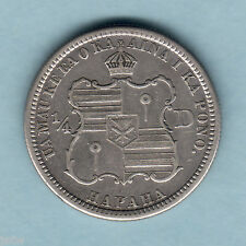 USA - Hawaii.  1883 Quarter Dollar..   aVF - Trace Lustre