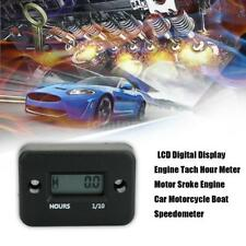 LCD Digital Display Engine Tach Hour Meter Motor Sroke Engine for Car Motorcycle