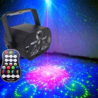 Mini RGB Portable Led Stage Laser Light DJ KTV Projector Disco Party USB Lamp Re