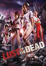 LUST OF THE DEAD NEW DVD