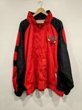 Chicago Bulls Mens 4X XXXXL Wind Breaker Full Zip Jacket Color Works VTG NBA
