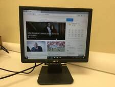 """12"""" Flat Panel Screen Computer Monitor Screen Acer AL1516 Tested & Working-++"""