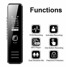 Mini Grabadora de Voz Digital MP3 Reproductor Sonido Voice Recorder Dictafono