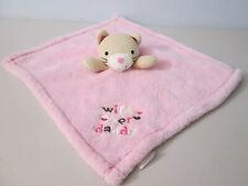 Baby Gear Pink Cat Wild About Daddy Security Blanket Lovey
