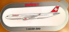 Swiss air, a330-300, pegatinas, adhesivos, high quality, nueva/New, Top & rara vez!!!