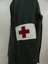Wehrmacht  Heer Luftwaffe Marine WSS Sanitäter Armbinde Rotes Kreuz gebraucht