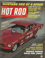 Vintage HOT ROD Magazine March 1967 Issue