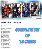 18-19 POP NYCC SET OF 15 (GIORDANO/SUTTER/SILFVERBERG++) Topps NHL Skate Digital