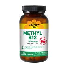 Methyl B-12 60 Lozenges 5000 Mcg by Country Life