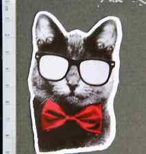 Business Cat Bow Tie FUNNY CUTE Sticker Mac book Guitar Car Vinyl Laptop decal