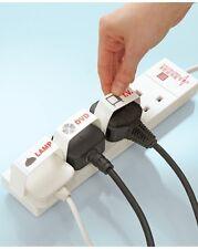 Plug Mates - Label, Identify, Easy Remove Arthritis Aid - 10pcs with 24 Labels