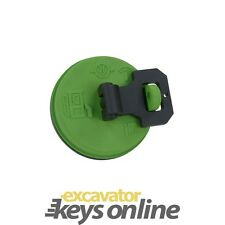 Caterpillar Fuel Cap Green Part Number 2045-407 1428828 2010330 Locking Cap