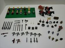 LEGO Minifigures Knights Weapons, Pirates Horses, Helmets, Armor (Some Vintage)