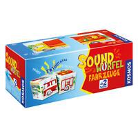 KOSMOS Kinderspiele Soundwürfel Fahrzeuge Würfel mit Geräuschen ab 2 J. 697365