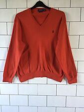 MENS OLD SCHOOL RUSTY RALPH LAUREN URBAN VINTAGE RETRO PULLOVER JUMPER XXL