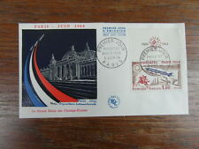 FDC ENVELOPPE PREMIER JOUR FRANCE PHILATEC cachet Paris 05-06-1964