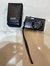 Nikon COOLPIX S4000 12.0MP Digital Camera - Black - Touchscreen With Case