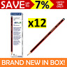 NEW IN BOX 12x Staedtler Tradition 110 2B Lead Pencils Red Black SR1102B