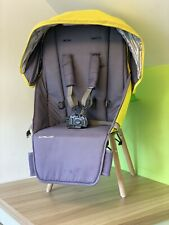 Uppababy Cruz Seat Fabric, Harness and Hood - Yellow / Grey