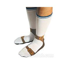 Sock Sandals-Funny Socks-Shoe Socks-Gag-Unique Socks-NEW