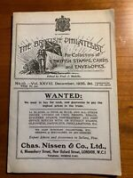 The British Philatelist, Chas. Nissen & Co. Dec. 1935, edited by Fred Melville