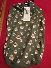 NWT East Side Collection Monkey Business Hoodie Dog Puppy Large FREE Shipping