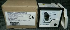 New Crompton Panel Meter Gauge 0 600v Ac With 3 Way Selector Switch
