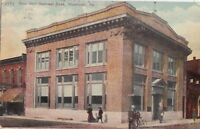 Postcard New First National Bank Meadville PA