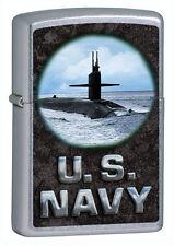 Zippo Windproof U.S. Navy Submarine Lighter, # 28579, New In Box
