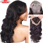 Best Brazilian Virgin Human Hair Lace Front Wig With Baby Hair Curly Wave Long