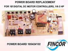 FINCOR IMO Power Board Replacement #105424102-C REV E 1/3-3 HP, 230VAC DC drive