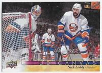 2017-18 Upper Deck Canvas #C56 Nick Leddy - New York Islanders