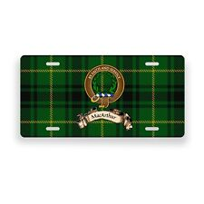 MacArthur Scottish Clan Novelty Auto Plate Tag Family Name License Plate