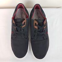 BOXFRESH ORTHOLITE Mens Shoes US SZ 11 Black Comfort Low Top Boat Sneakers