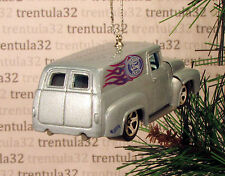 AUTO PARTS '56 FORD PANEL DELIVERY TRUCK 1956 BLUE CHRISTMAS TREE ORNAMENT XMAS
