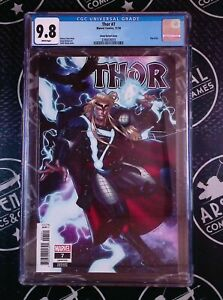 Thor #7 1:25 Sharp Incentive Variant 2020 Marvel Comics CGC 9.8 Donny Cates