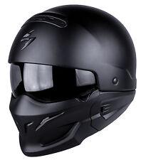 Casque MOTO helmet SCORPION EXO COMBAT SOLID Taille L 59 60 - Streetmotorbike