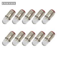 10 pieces Warm White LED Screw Bulb E5 E5.5 12V-14V E505WM