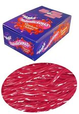 90 Pieces x Wonka Raspberry Twister 1 kg Party Favours Sweets Bulk Confectionery