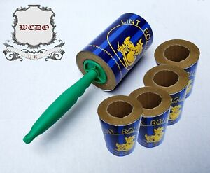 20M Jumbo Sticky Lint Roller and Refill for Dust Fluff Pet Hair removal(wedo)uk