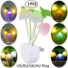 7 Color Changing Mushroom Light LED Lamp Bedroom Nightlight Romantic Decor Gift